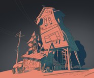 Drawing of house
