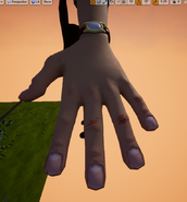 Player hands L