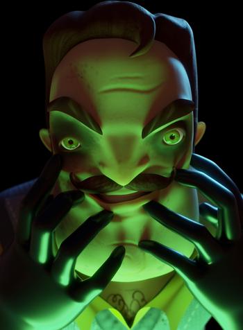 Secret Neighbor (Scary)
