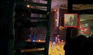 Man in the hat hiding in HN2 trailer