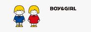 Sanrio Characters Boy & Girl Image003