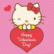 Sanrio Characters Hello Kitty--Valentines Day Image001