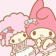 My Melody X Sweet Piano aprons