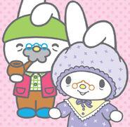 Sanrio Characters Grandpa (My Melody)--Grandma (My Melody) Image001