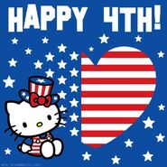 Sanrio Characters Hello Kitty--July 4th Image001
