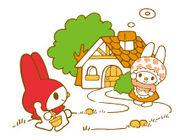 Sanrio Characters My Melody--Mama (My Melody) Image001