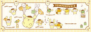 Sanrio Characters Pompompurin--Muffin--Bagel--Scone--Mint (Pompompurin)--Tart--Powder Image003