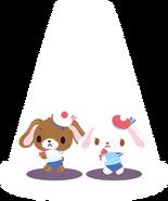 Sanrio Characters Kurousa--Shirousa Image008