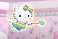 Hello Kitty rainbow fairy