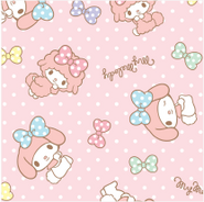 Sanrio Characters My Sweet Piano--My Melody Image001