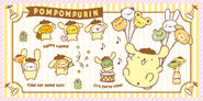 Sanrio Characters Pompompurin--Muffin--Bagel--Scone--Mint (Pompompurin)--Tart--Powder Image002