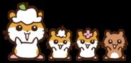 Sanrio Characters Corocorokuririn--Chibikuri--Cherri--Chacha Image001