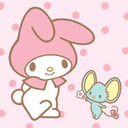 Sanrio Characters My Melody--Flat Image001