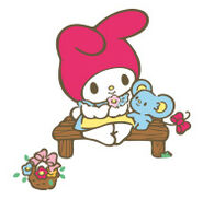 Sanrio Characters My Melody--Flat Image010