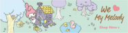 Sanrio Characters My Melody--Risu--Flat--The Duck Family Image001