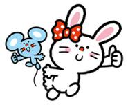 Sanrio Characters Bunny and Matty Image002