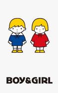 Sanrio Characters Boy & Girl Image001
