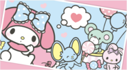 Sanrio Characters My Melody--Flat Image005