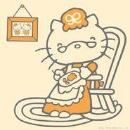 Sanrio Characters Grandma (Hello Kitty) Image002