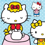 Sanrio Characters Mama (Hello Kitty)--Hello Kitty--Mimmy Image001