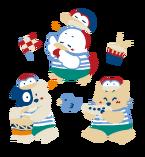 Sanrio Characters Brownies Story Image001