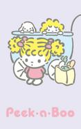 Sanrio Characters Peek-a-Boo--Pero--Bibi Image001