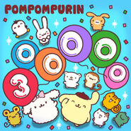 Sanrio Characters Pompompurin--Muffin--Bagel--Scone--Whip--Macaroon--Powder--Tart--Vanilla (Pompompurin)--Coconut--Mint (Pompompurin) Image001
