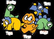 Sanrio Characters Blacky--Tera--Tops--Tiran--Stega Image001