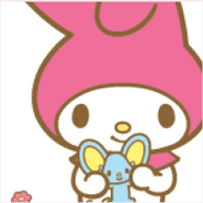 Sanrio Characters My Melody--Flat Image004
