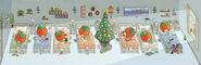 Sanrio Characters Tuffy--Tommy--Dandy--Crybaby--Socrates--Stinky--Candy (Strawberry King)--Christmas Image001