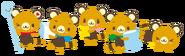 Sanrio Characters Latte--Maple--Macchiato--Frappe--Chai Image003