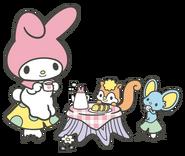 Sanrio Characters My Melody--Risu--Flat Image008