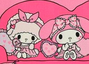 My Melody X Sweet Piano nightgowns 2