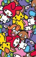 Sanrio Characters My Melody--Flat--Risu--Araiguma--My Sweet Piano--Kitsune--Kuma Image001