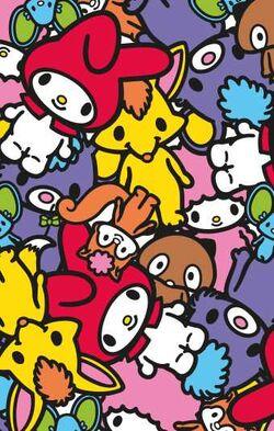 Sanrio Characters My Melody--Flat--Risu--Araiguma--My Sweet Piano--Kitsune--Kuma Image001.jpg