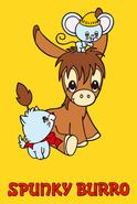 Sanrio Characters Spunky Burro Image008