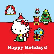 Sanrio Characters Hello Kitty--Joey--Christmas Image001