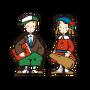 Sanrio Characters Vaudeville Duo Image010