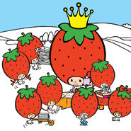 Sanrio Characters Strawberry King--Tuffy--Tommy--Dandy--Crybaby--Socrates--Stinky--Candy (Strawberry King) Image001