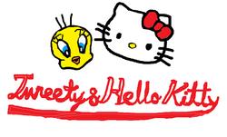Sanrio Characters Tweety Hello Kitty Image011.png