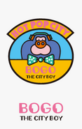 Sanrio Characters Bogo the City Boy Image002