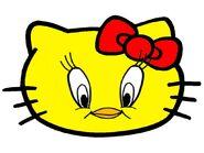 Sanrio Characters Tweety Hello Kitty Image005