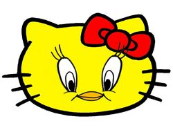 Sanrio Characters Tweety Hello Kitty Image005.jpg