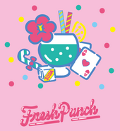 Sanrio Characters Fresh Punch Image011