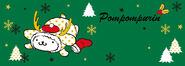Sanrio Characters Pompompurin Christmas Image001