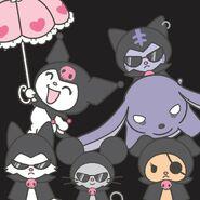 Sanrio Characters Kuromi--Nyanmi--Wanmi--Konmi--Chumi--Baku Image001