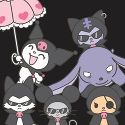 Sanrio Characters Kuromi--Nyanmi--Wanmi--Konmi--Chumi--Baku Image001.jpeg