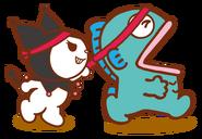 Sanrio Characters Kuromi--Hangyodon Image001