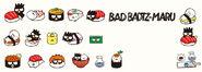 Sanrio Characters Badtz-Maru--Hana-Maru Image002