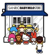 Baby Milo x Sanrio Store